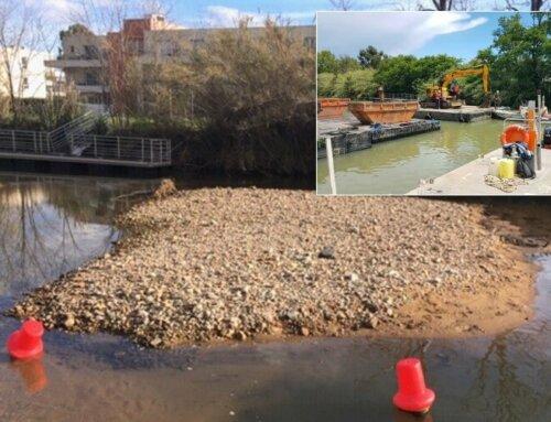Travaux d'urgence de restauration de la continuité hydraulique de l'Ancienne Siagne